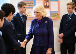 The Duchess of Cornwall gives year 9 pupils a day to remember