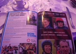RTS Advert in the HWPA Awards brochure on December 4th