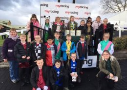 Pupils and winning connections at Hereford